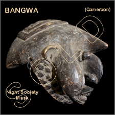 Bangwa Night Society Mask