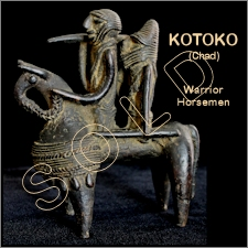 Kotoko Bronze Equestrian Warriors