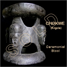 Chokwe Ceremonial Stool