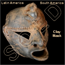 Clay/Terracotta Mask