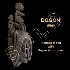 Dogon Helmet Mask w/Superstructures