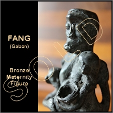 Frang Bronze Maternity Figure