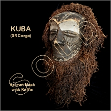 Kuba Bearded Helmet Mask