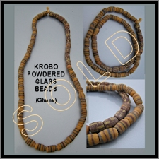 Krobo Glass Beads4 (partially matched)