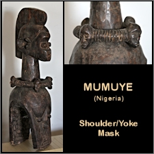 Mumuye Shoulder/Yoke Mask