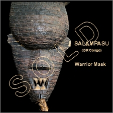 Salampasu Warrior Mask